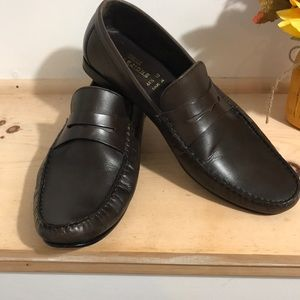 Marks & Spencer collezione Men Leather loafers-11